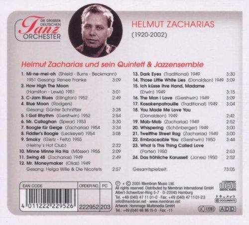 Bild 2: Helmut Zacharias, Die grossen deutschen Tanzorchester (Quintett & Jazzensemble, 1949-55)