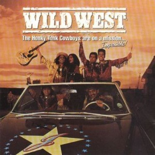Bild 1: Wild West-The Honky Tonk Cowboys are on a Mission.. (1993), Steve Earle, Angelo Palladino, Rebecca Price..