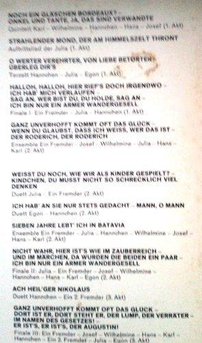 Bild 2: Eduard Künneke, Der Vetter aus Dingsda-Querschnitt (10'') (Renate Holm, Brigitte Mira, Rudolf Schock..)