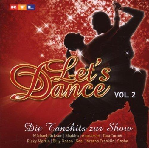 Bild 1: Let's Dance 2-Die Tanzhits zur Show (2007, RTL), Shakira, Ricky Martin, Sasha, Whitney Houston, Wham!, Seal, Abba..