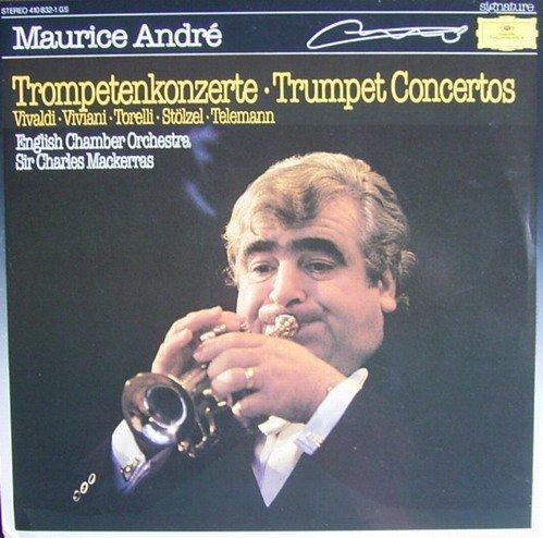 Фото 1: Maurice André, Trompetenkonzerte (DG; Vivaldi, Viviani, Torelli, Stölzel..) (English Chamber Orch./Mackeras)