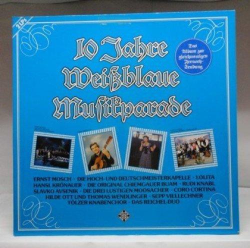 Bild 1: 10 Jahre weißblaue Musikparade (1982), Ernst Mosch, Lolita, Slavko Avsenik, Coro Cortina, Rudi Knabl, Sepp Viellechner..