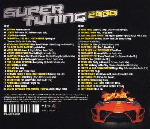 Bild 2: Super Tuning 2008 (MORE), Manian, Liz Kay, Lazard, Magic Affair, Mike Nero..