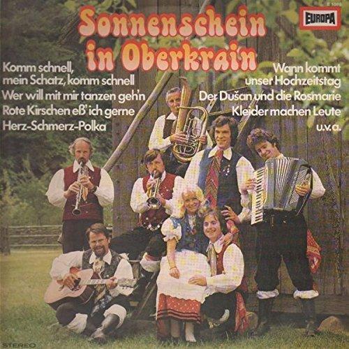 Bild 1: Oberkrainer Quartett Fjerek, Sonnenschein aus Oberkrain