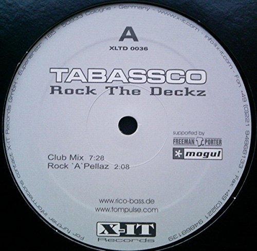 Bild 1: Tabassco, Rock the decks (white label, #xltd0036)