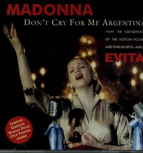 Bild 1: Madonna, Don't cry for me Argentina (1996, CD2)