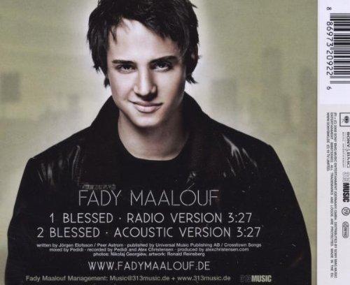 Bild 2: Fady Maalouf, Blessed (2008, 2 tracks)