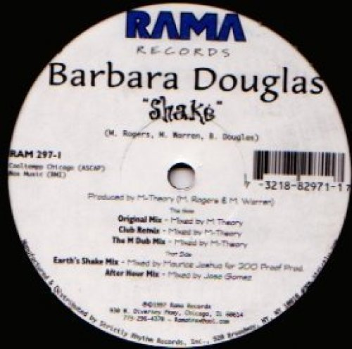 Bild 2: Barbara Douglas, Shake (5 mixes)