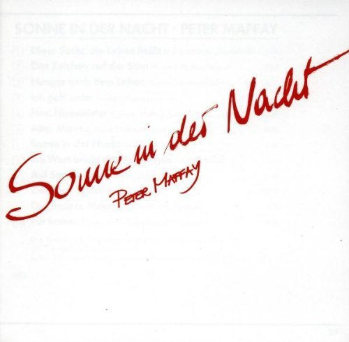 Фото 1: Peter Maffay, Sonne in der Nacht (1985/93)