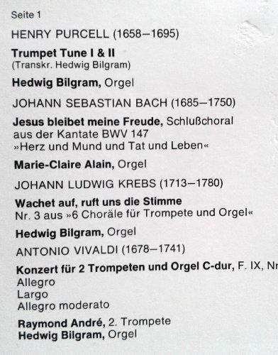 Bild 3: Maurice André, Festlich virtuos (1977)