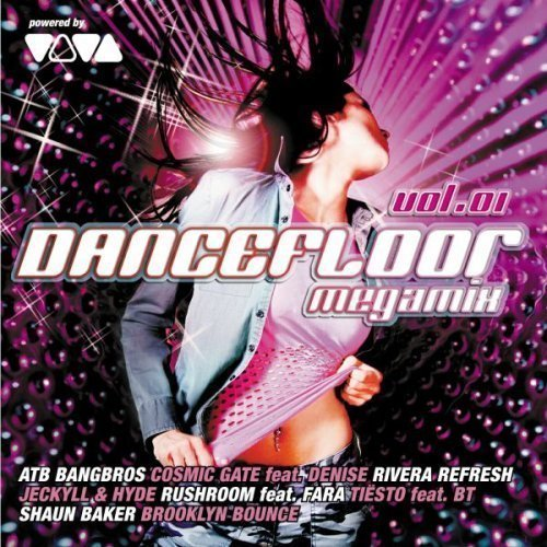 Bild 1: Dancefloor Megamix 1 (2008), Andrew Spencer & The Vamprockerz, Scotty, Akira, Squeezer..