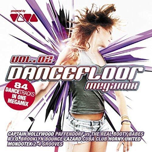 Bild 1: Dancefloor Megamix 2 (2008), Axwell vs Dirty South, Nightcrawlers, Funky Town, Becca..