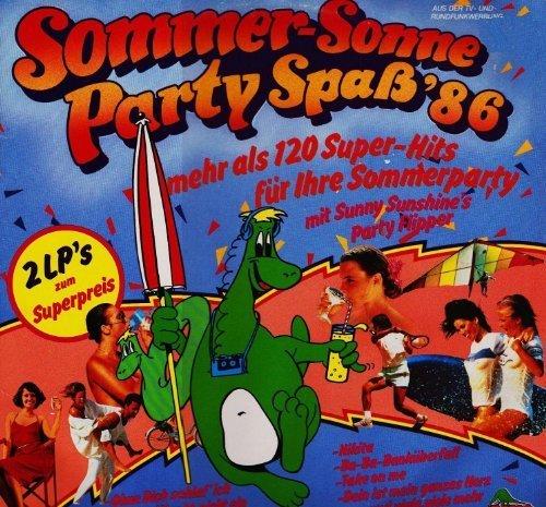 Bild 1: Sunny Sunshine's Party Flipper, Sommer, Sonne, Partyspaß '86