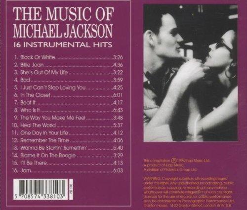 Фото 2: Michael Jackson, Black or white-The music of-16 instrumental hits (1994)