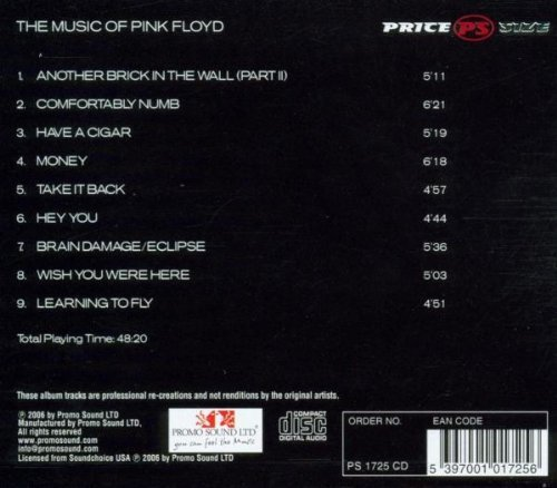 Bild 2: Pink Floyd, Music of (2006, performed by T.a.t)