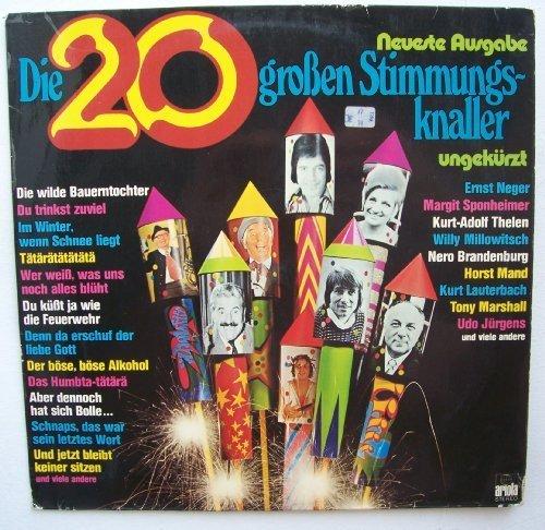 Bild 1: Die 20 großen Stimmungsknaller, Udo Jürgens, Willy Millowitsch, Ernst Neger, Tony Marshall..