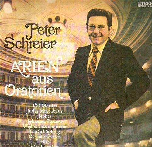 Bild 1: Peter Schreier, Arien aus Oratorien (ETERNA)