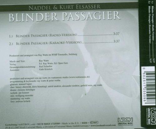 Bild 2: Naddel, Blinder Passagier (2007; 2 tracks, & Kurt Elsasser)