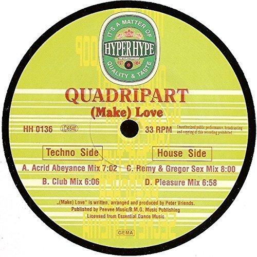 Bild 1: Quadripart, (Make) love (4 versions)