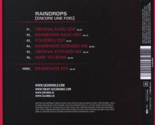 Bild 2: Sash!, Raindrops.. (2008, feat. Stunt)
