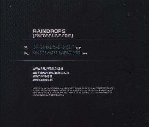 Bild 4: Sash!, Raindrops.. (2008, feat. Stunt)