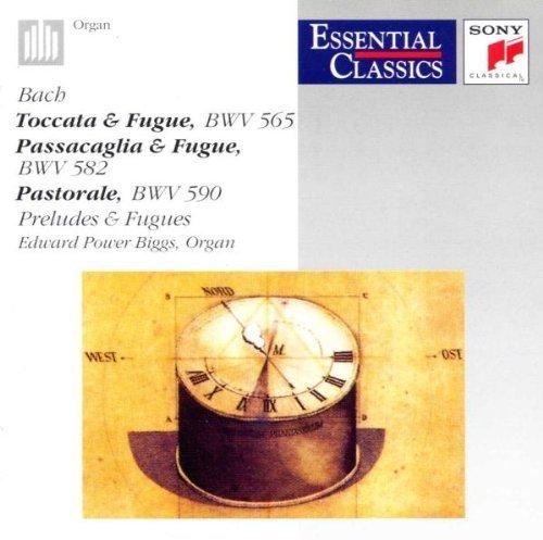 Bild 1: Bach, Toccata & fugue, BWV 565/Passacaglia & fugue, BWV 582.. (Sony, 1961-72/91) Edward Power Biggs