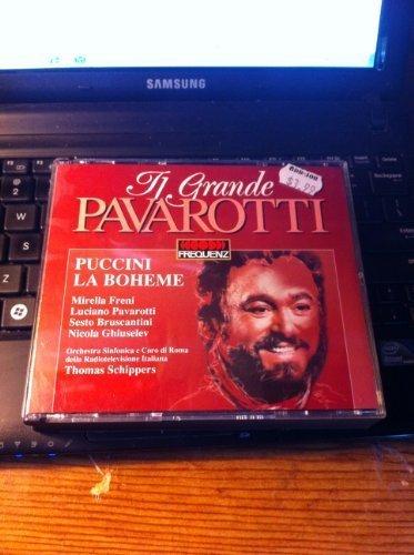 Bild 1: Puccini, La bohème (1969/91) (Luciano Pavarotti, Orch. SInfonica e Coro di Roma/Schippers..)
