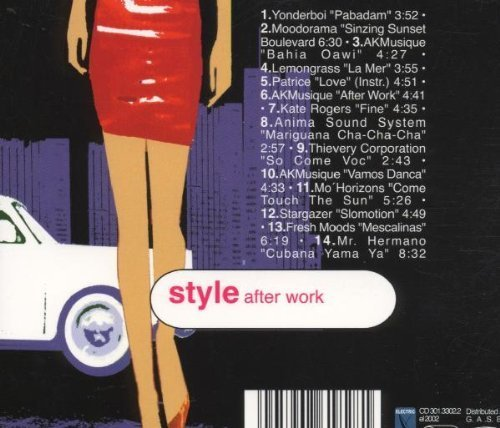 Bild 2: Style after Work (2000, digi), Yonderboi, Moodorama, AKMusique, Lemongrass..