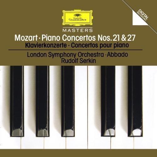 Bild 1: Mozart, Klavierkonzert Nr. 21, KV 467/Nr. 27, KV 595 (DG, 1983/84) (Rudolf Serkin, LSO/Abbado)