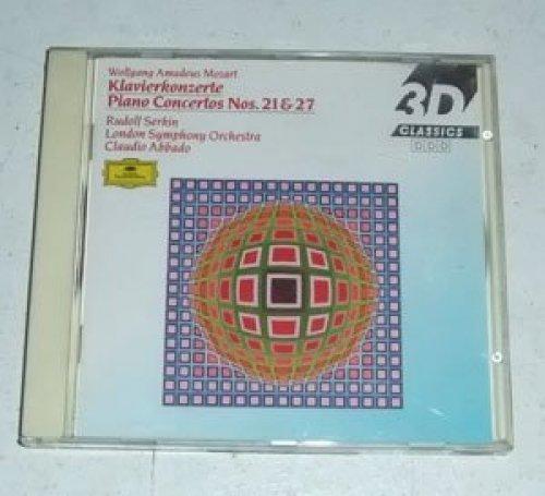 Bild 2: Mozart, Klavierkonzert Nr. 21, KV 467/Nr. 27, KV 595 (DG, 1983/84) (Rudolf Serkin, LSO/Abbado)
