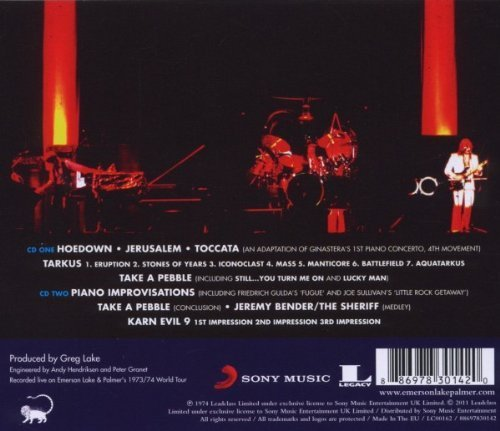 Bild 4: Emerson Lake & Palmer, Welcome back, my friends, to the show.. (1974)