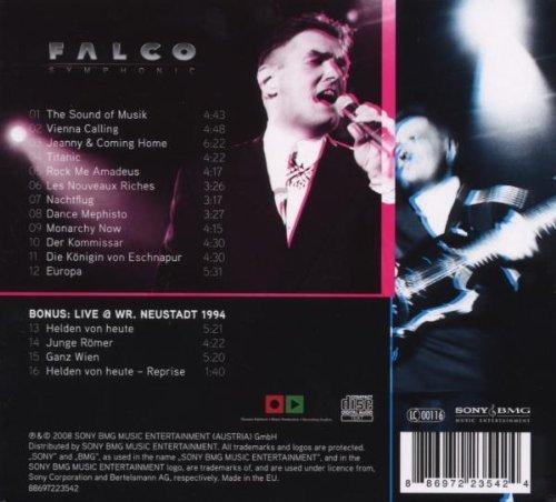 Bild 2: Falco, Symphonic (2008, digi)
