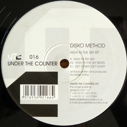 Bild 1: Disko Method, High in the sky ep