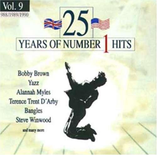 Bild 1: 25 Years of Number 1 Hits 9 (1988-90), Tiffany, Terence Trent D'Arby, Steve Winwood, Yazz, Adamski..