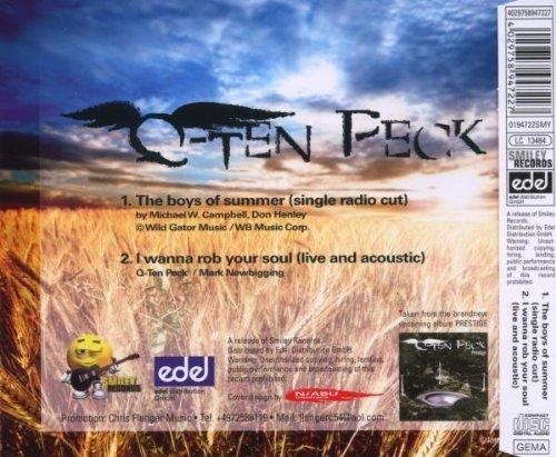 Bild 2: Q-Ten Peck, Boys of summer (2 tracks)