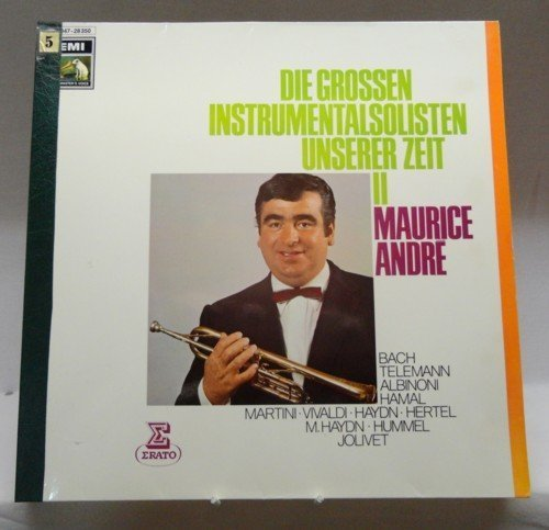 Фото 1: Maurice André, Die grossen Instrumentalsolisten unserer Zeit II