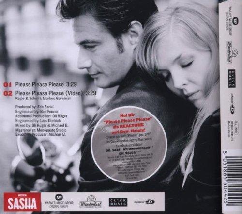 Bild 2: Sasha, Please please please (2009; 2 tracks)