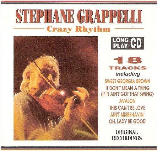 Bild 1: Stephane Grappelli, Crazy rhythm (compilation, 18 tracks, 1992)