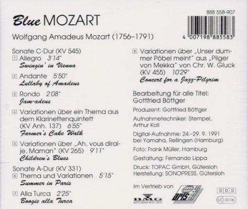Bild 2: Gottfried Böttger, Blue Mozart (1991, & Jasmin Schittek)