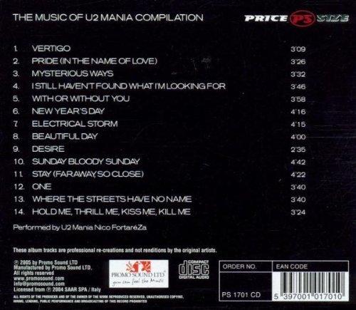 Bild 2: U2, Music of-U2 mania compilation (2004, performed by U2 Mania Nico FortaréZa)