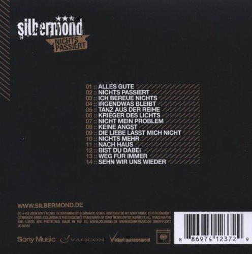 Bild 3: Silbermond, Nichts passiert (2009)
