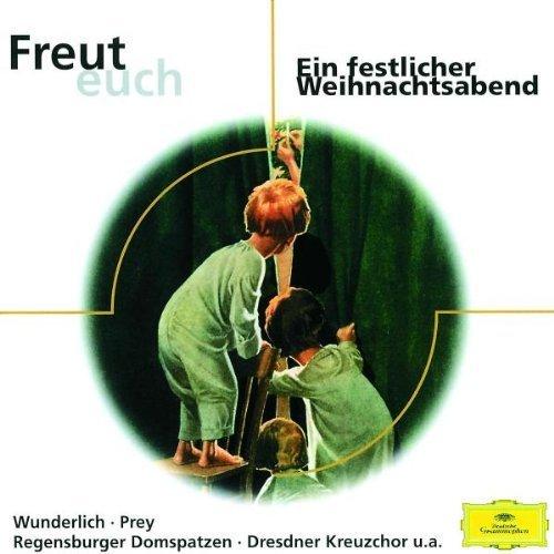 Bild 1: Musik und Geschichten zur Weihnachtszeit (DG), Manfred Steffen, Heinz Rühmann, Maria Stader, Rita Streich..