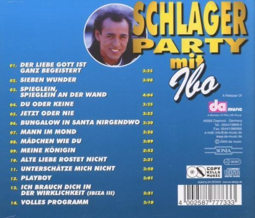 Bild 2: Ibo, Schlagerparty mit (compilation, 14 tracks)