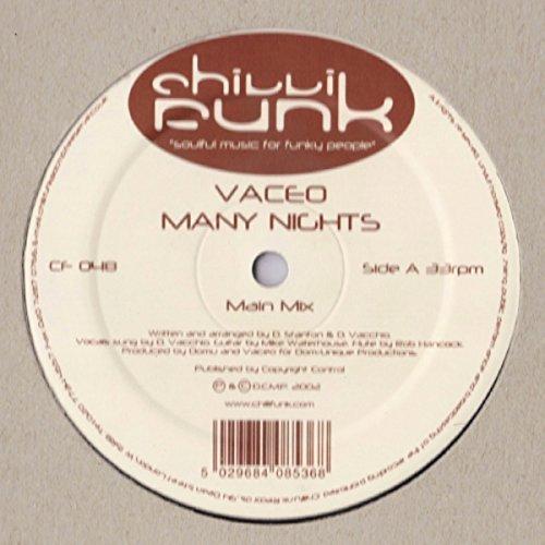 Bild 1: Vaceo, Many nights (Main Mix, 2002)
