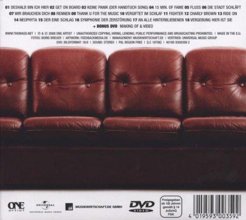 Bild 2: Thomas D., Kennzeichen D (2008, CD/DVD)