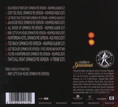 Bild 2: Elvis Presley, Re:versions (2008, digi, vs Spankox)