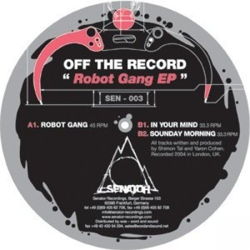 Bild 1: Off the Record, Robot gang EP (2004)