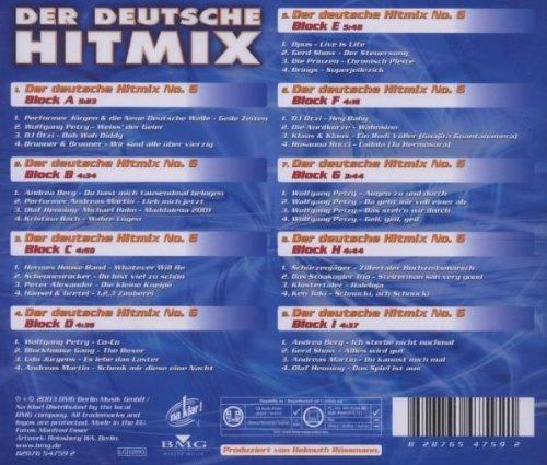 Bild 2: Der Deutsche Hit Mix 6 (2003), Wolfgang Petry, Brunner & Brunner, Andrea Berg..