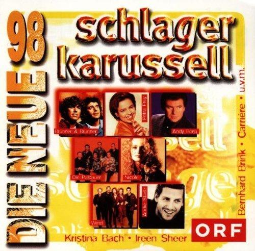 Фото 1: Schlager Karussell '98-Die Neue (ORF), Nicole, Brunner & Brunner, André Stade, Klostertaler, Frans Bauer..