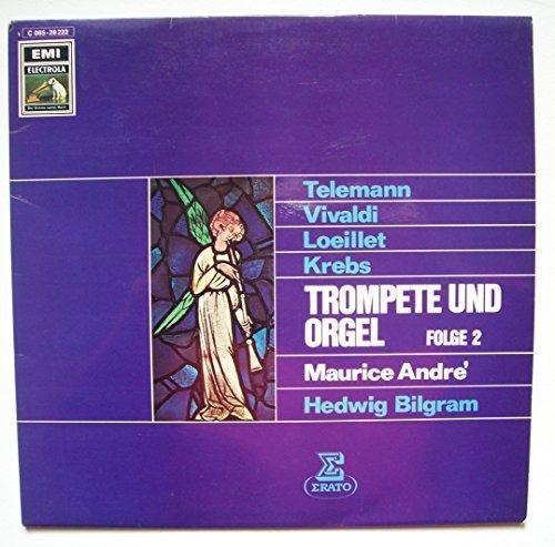 Bild 1: Maurice André, Trompete & Orgel Vol. 2 (1978, Erato, & Hedwig Bilgram)